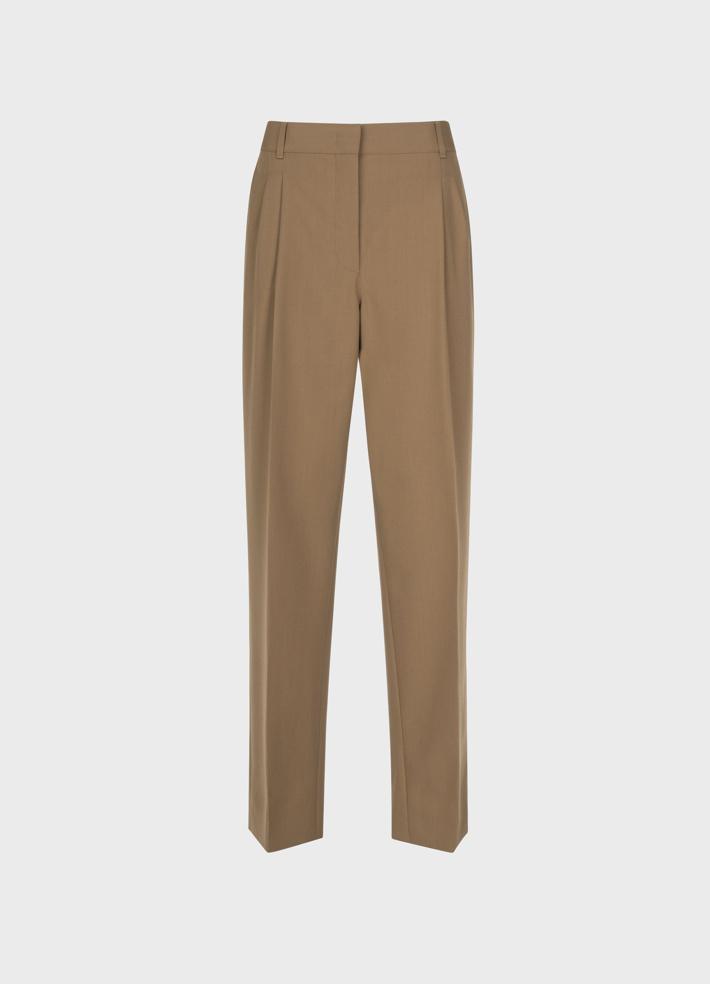 Jobim Straight-Leg Wool Trousers