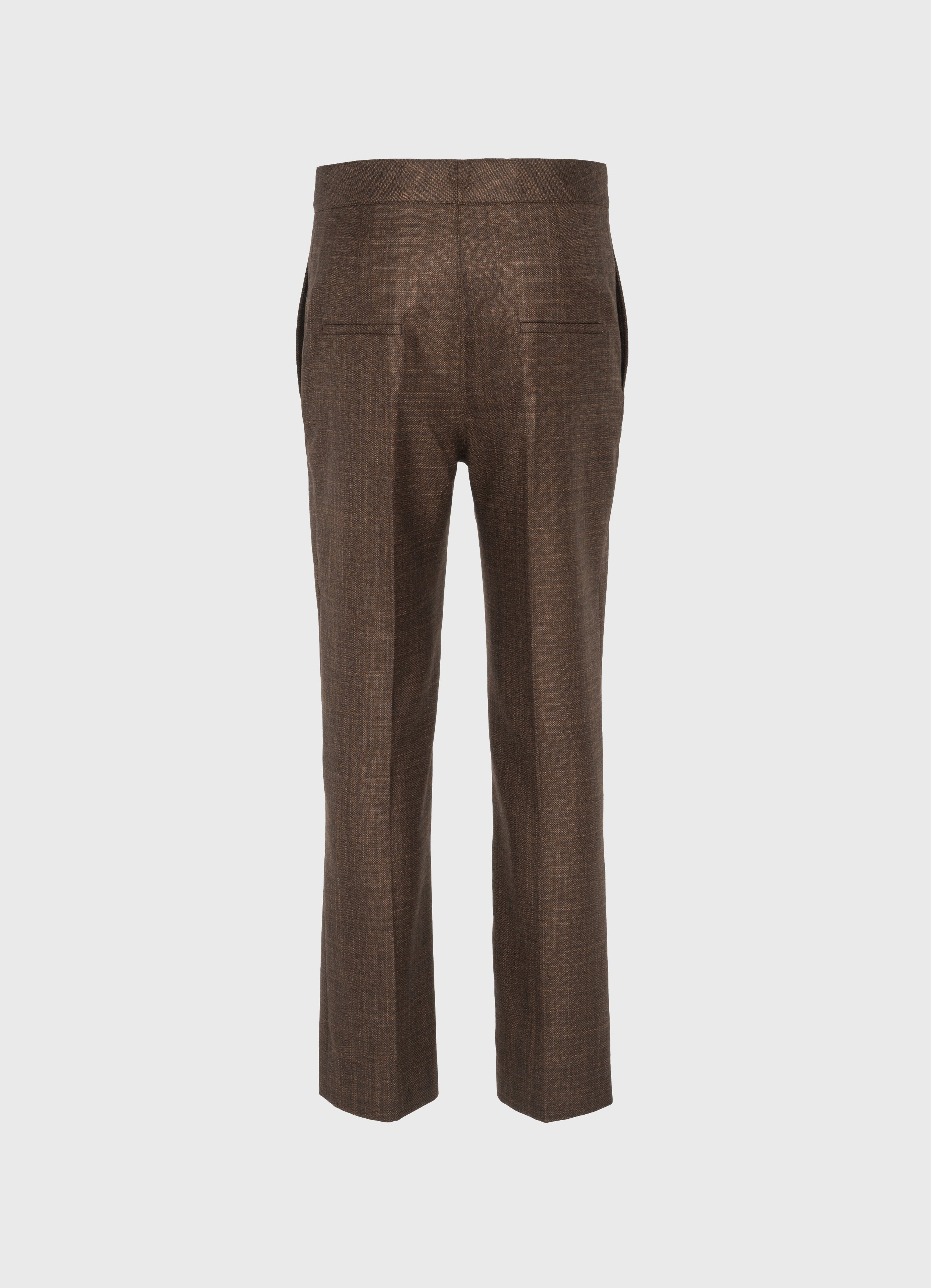 Treviso high-waist trousers