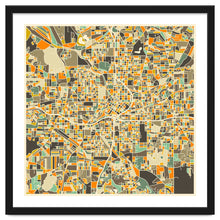 Load image into Gallery viewer, Atlanta Map Art Print