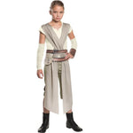 Star Wars The Force Awakens Rey Fancy Dress Halloween Costume for Kids Girl