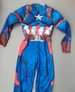 Captain America Halloween Costume for Kids