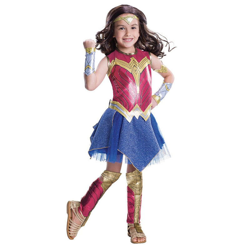 New Children Wonder Woman Cosplay for Halloween