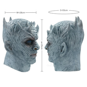 Game Of Thrones Night's King Walker Face Halloween Latex Mask