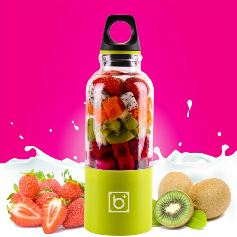 PORTABLE BLENDER 500ML - USB Rechargeable