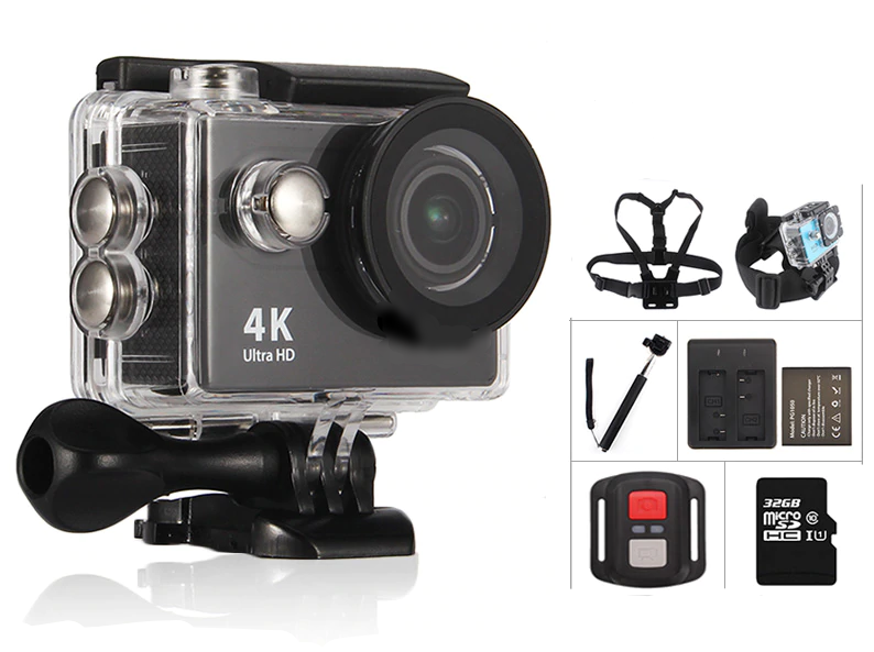 It's time - we go for EXtreme!! X-Sports action Camera Ultra HD 4K