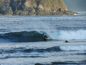 Get your first barrel in Lombok with XX Surf School Lombok