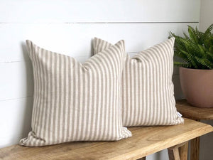 Taupe Scout Stripe