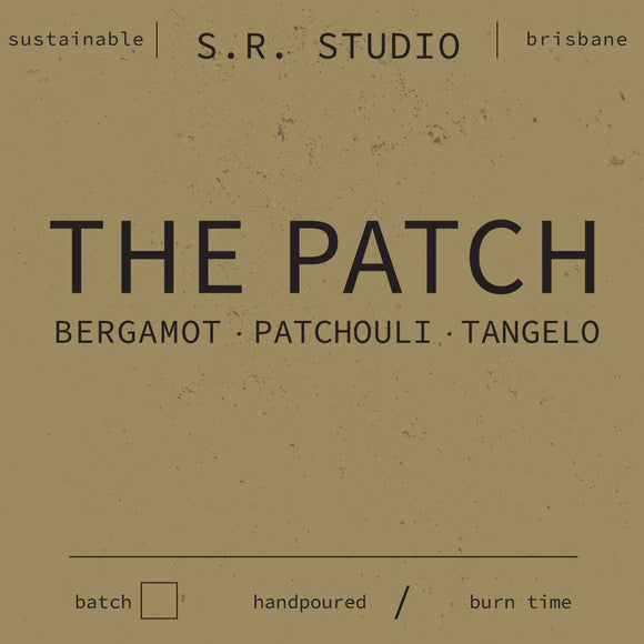 S.R. Studio The Patch candle