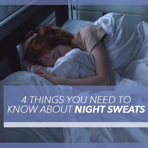 4 Things You Need to Know About Night Sweats | Cool-jams