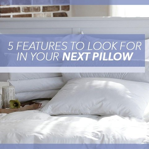 5 Features to Look for in Your Next Pillow | Cool-jams