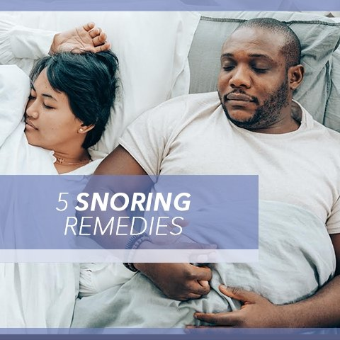 5 Snoring Remedies | Cool-jams