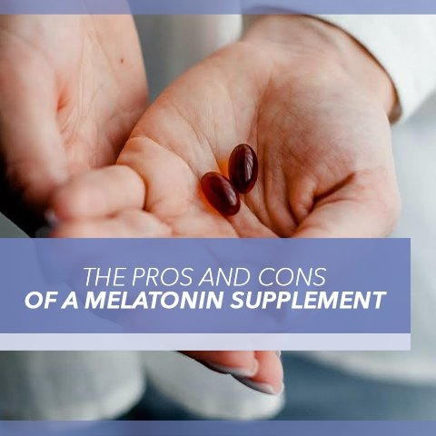 The Pros and Cons of a Melatonin Supplement | Cool-jams