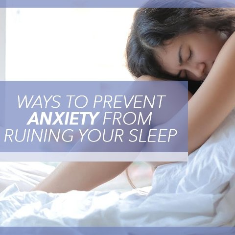 Ways to Prevent Anxiety From Ruining Your Sleep | Cool-jams