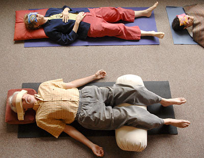 Cool-jams and yoga help sleep