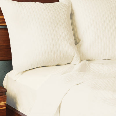 COOL BAMBOO QUILTED EURO SHAM - Cool-jams