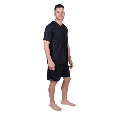 MEN'S MOISTURE WICKING BOXER PAJAMA SET - Cool-jams