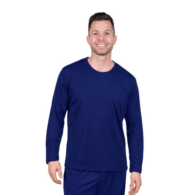 MEN'S MOISTURE WICKING LONG SLEEVE T-SHIRT - Cool-jams