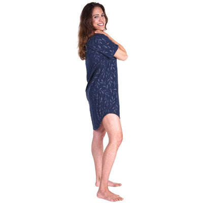 NEW MOISTURE WICKING SNAP FRONT NIGHTSHIRT