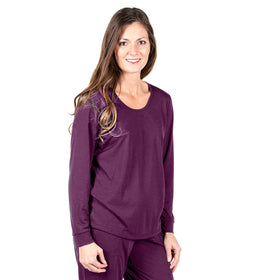WOMEN'S MIX AND MATCH MOISTURE WICKING LONG SLEEVE CUFF TOP - Cool-jams