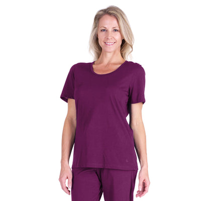 WOMEN'S MIX AND MATCH MOISTURE WICKING SCOOP T-SHIRT - Cool-jams
