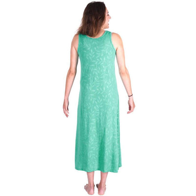 WOMEN'S MOISTURE WICKING LONG TANK GOWN - Cool-jams