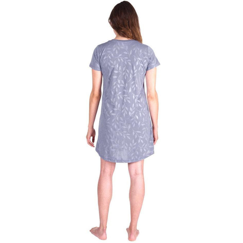 WOMEN'S MOISTURE WICKING SCOOP NECK NIGHTSHIRT/COVER-UP - Cool-jams