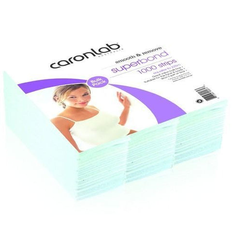 Caronlab Superbond Waxing Strips 1000 Pack