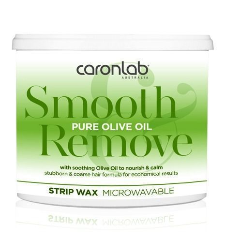 Caronlab Pure Olive Oil Strip Wax Microwaveable 400g
