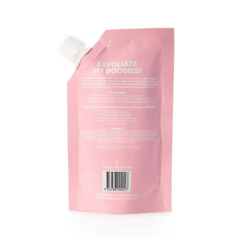 Booby Tape Miracle Pink Breast Scrub (150g)