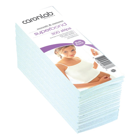 Caronlab Superbond Waxing Strips 300 Pack