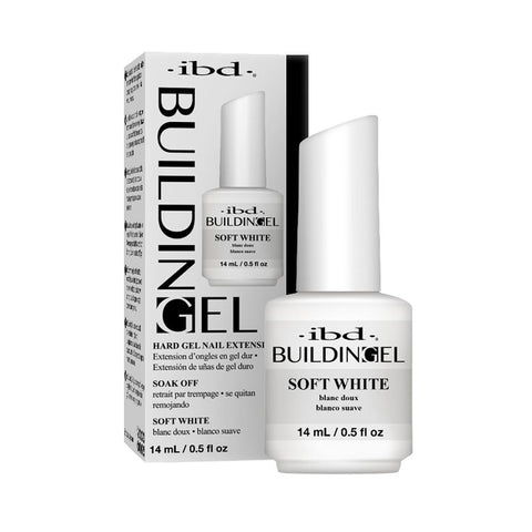 IBD Building Gel - Soft White (14ml)