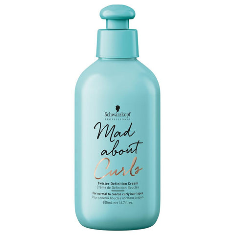 Schwarzkopf Professional Mad About Curls Twister Definition Cream (200ml)