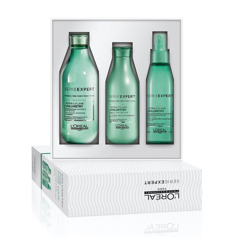 L'Oreal Professionnel Volumetry Trio Pack (Shampoo, Conditioner and Root Spray)
