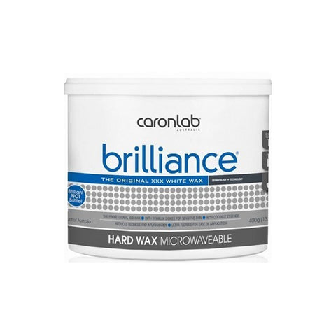 Caronlab Brilliance Hard Hot Wax Microwaveable 400g