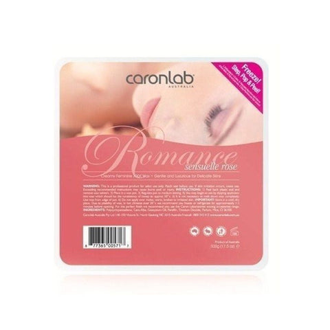 Caronlab Romance Hard Hot Wax Pallet Tray 500g