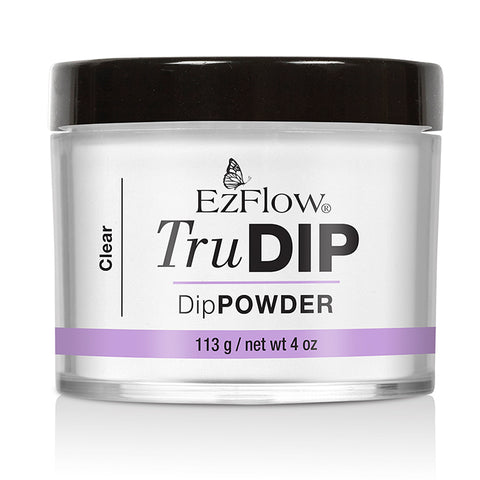 EzFlow TruDip Nail Dipping Powder - Clear Powder 113g