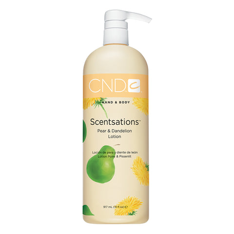 CND Hand & Body Scentsations Lotion - Pear & Dandelion (917ml)