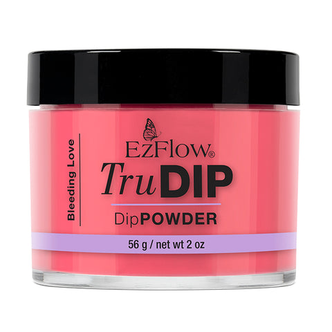 EzFlow TruDip Nail Dipping Powder - Bleeding Love (56g)