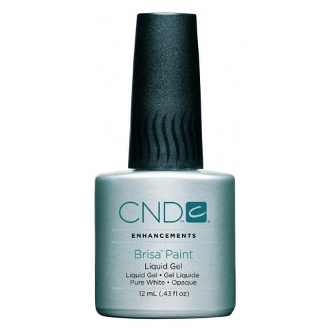 CND Brisa Pure White Gel Paint 12ml