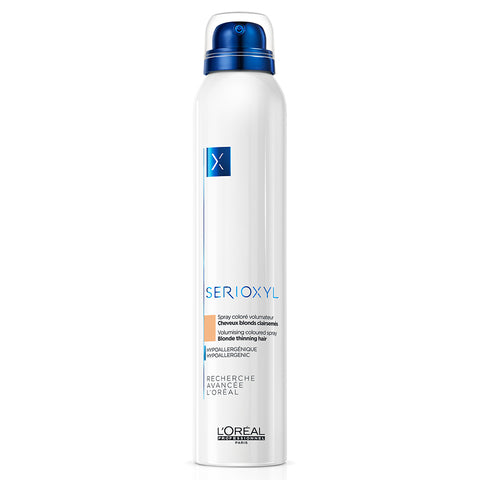 L'Oreal Professionnel Serioxyl Volumising & Bodifying Coloured Spray - Blonde (200ml)