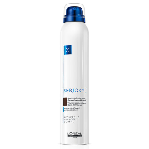 L'Oreal Professionnel Serioxyl Volumising & Bodifying Coloured Spray - Brown (200ml)