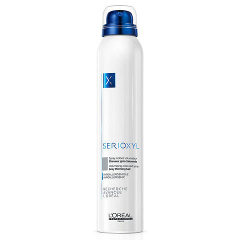 L'Oreal Professionnel Serioxyl Volumising & Bodifying Coloured Spray - Grey (200ml)