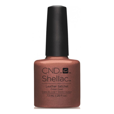 CND Shellac Leather Satchel 7.3ml