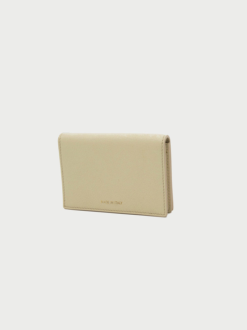 Card Case Bone Back [Equestrian Fashion, Purse, Leather Goods, Leather Card Case]