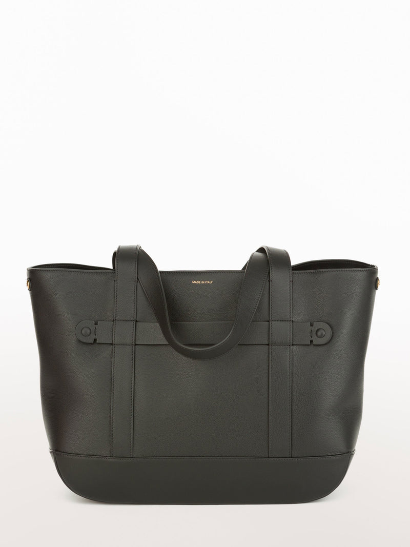Classic Tote Black [Equestrian Accessories, Leather Accessories, Black Purse Womens]