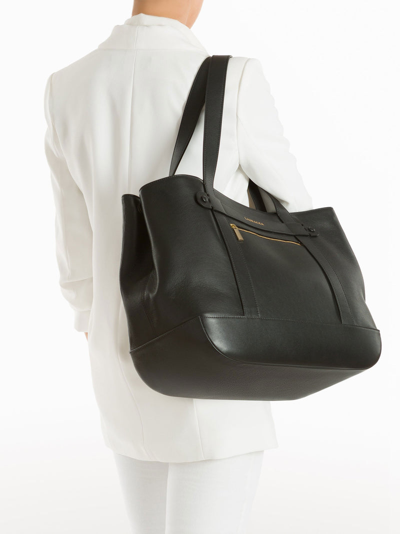 Classic Tote Black [Totebag, Italian Leather, Timeless Design, Classic]