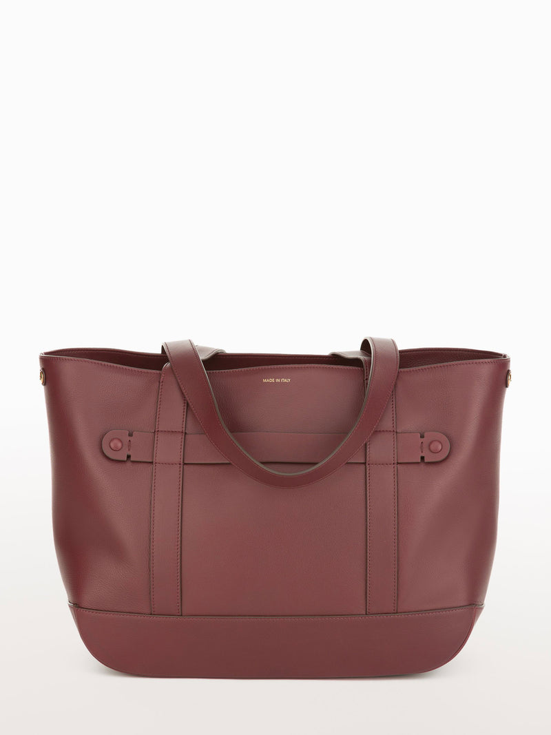 Classic Tote Merlot [Equestrian Accessories, Leather Accessories, Burgundy Purse Womens]