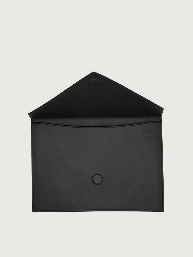 Envelope Black [Fashionable Clutch, Leather Purse, Clutch Purse]