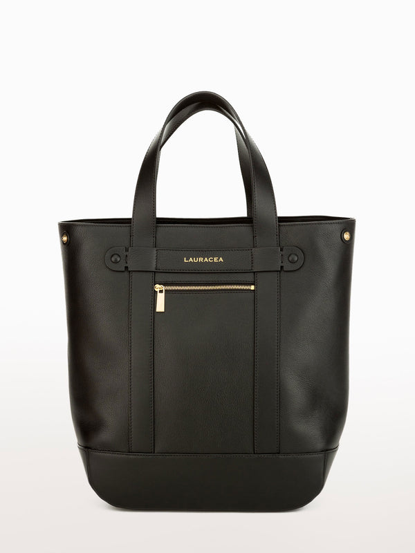 HAMPTON SHOPPER - BLACK