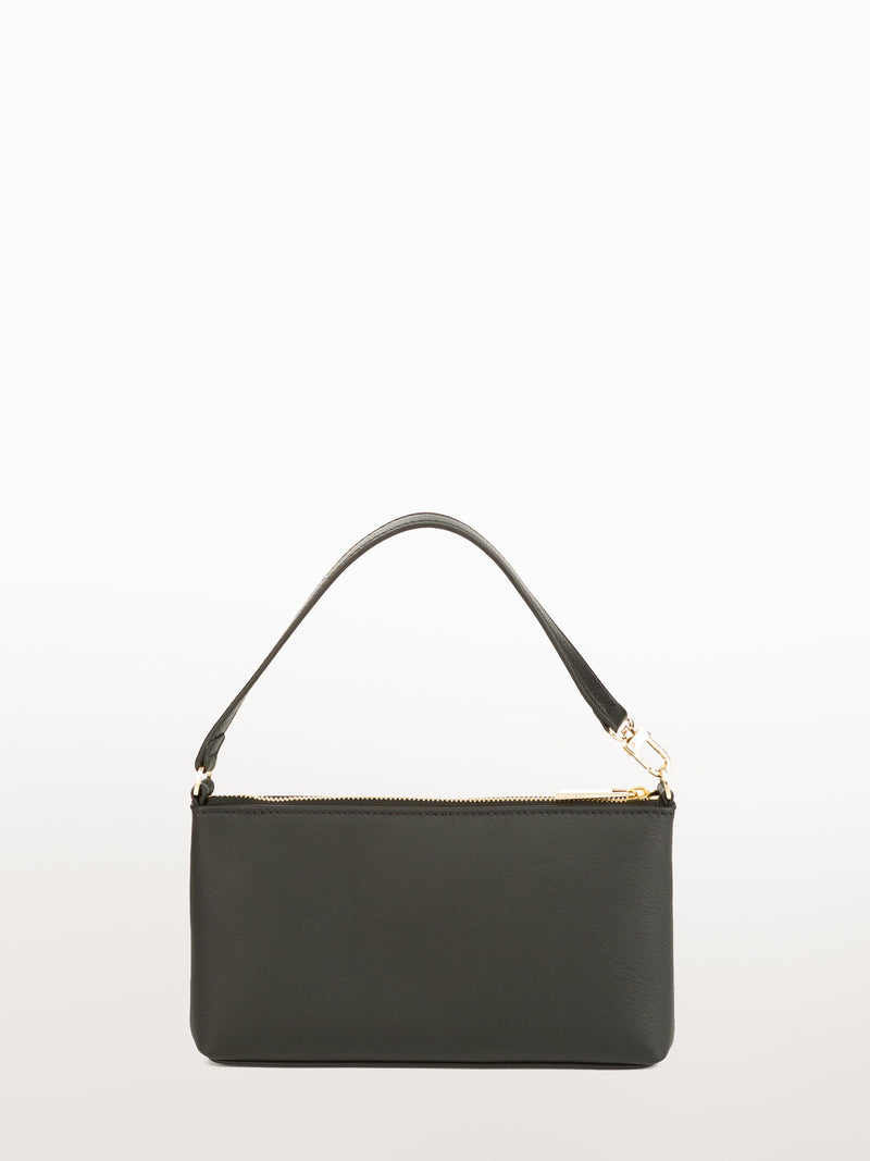 Mini Black Calf [Equestrian Accessories, Leather Accessories, Black Leather Clutch]